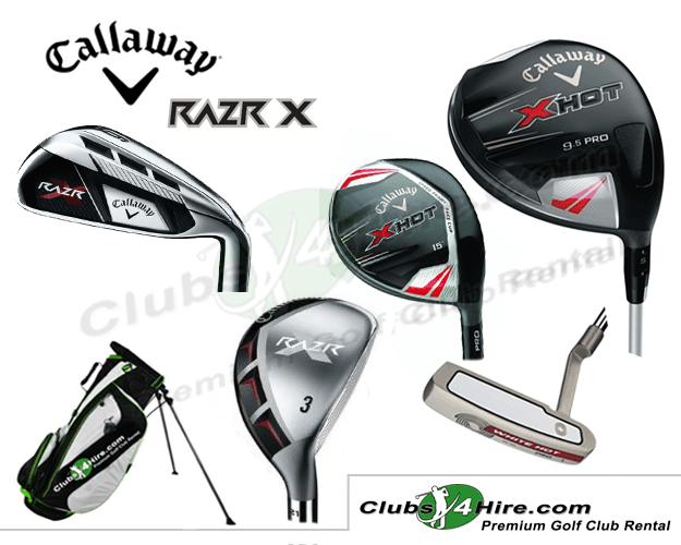 Callaway RazR Senior Graphite Set (14RG)
