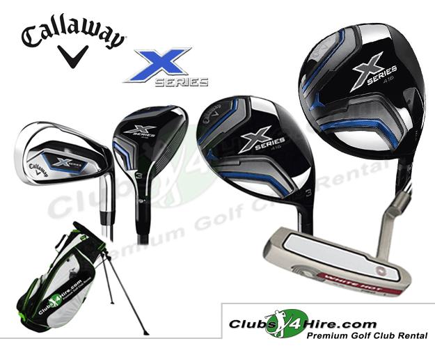 Callaway X416 X-Series Set (10RG)
