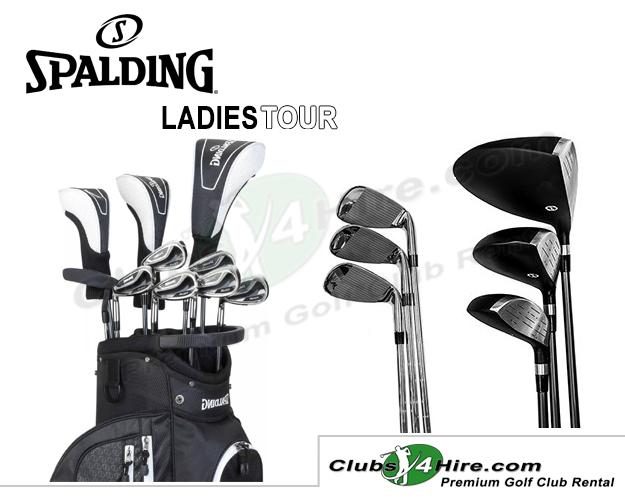 Spalding Tour Ladies Left-Handed Set (STLL)