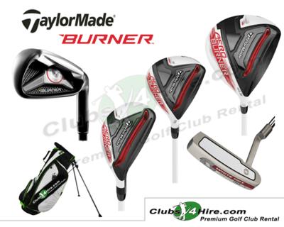 Taylormade Burner Set (Code: 21-RG)