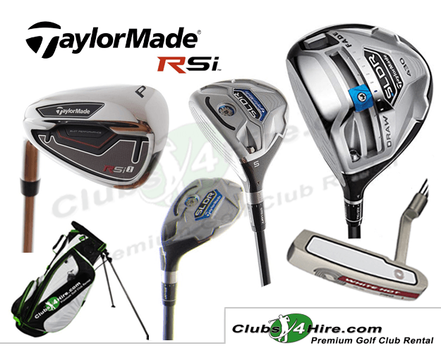 Taylormade RSi Left-Handed Set (3LG)
